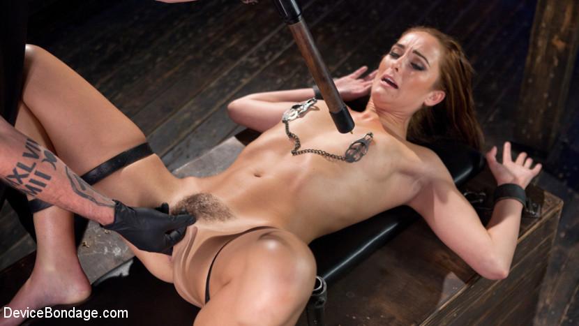 Bianca in bondage